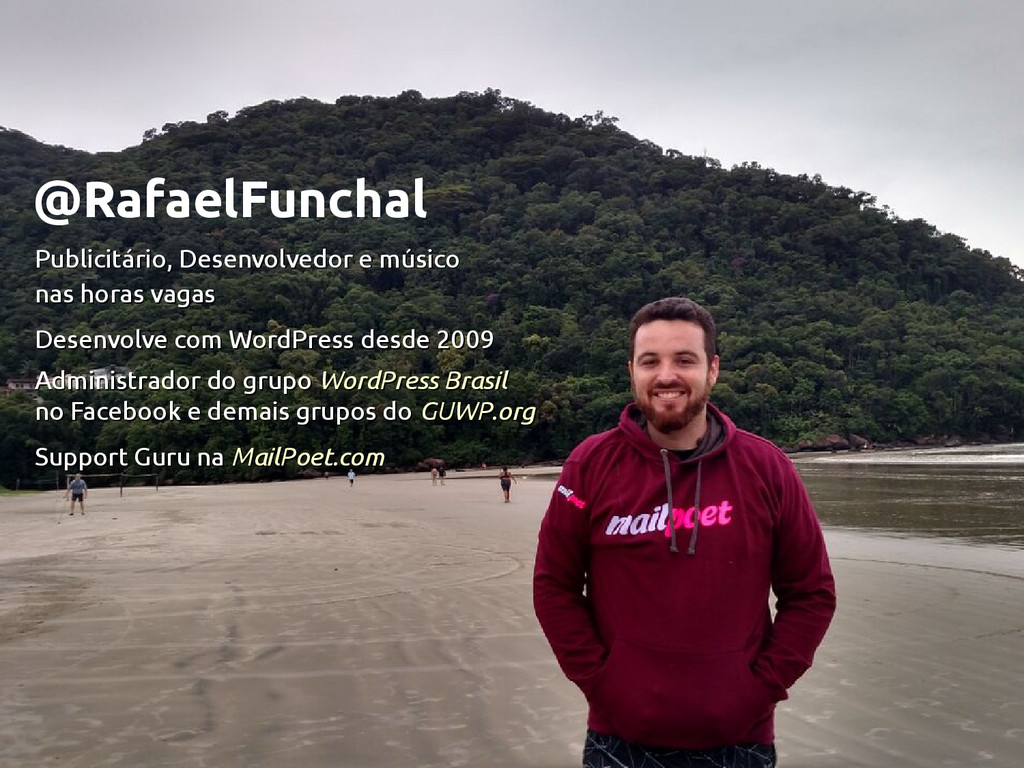 @RafaelFunchal Publicitário, Desenvolvedor e mú...