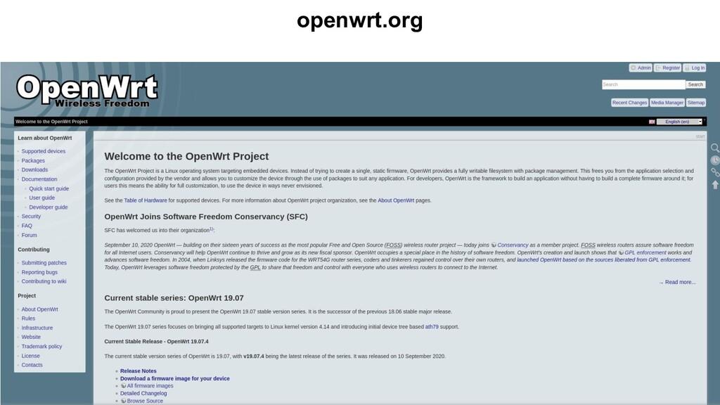 openwrt.org