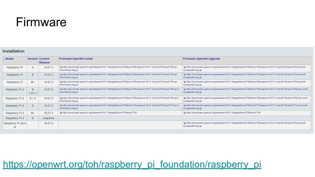 Firmware https://openwrt.org/toh/raspberry_pi_f...