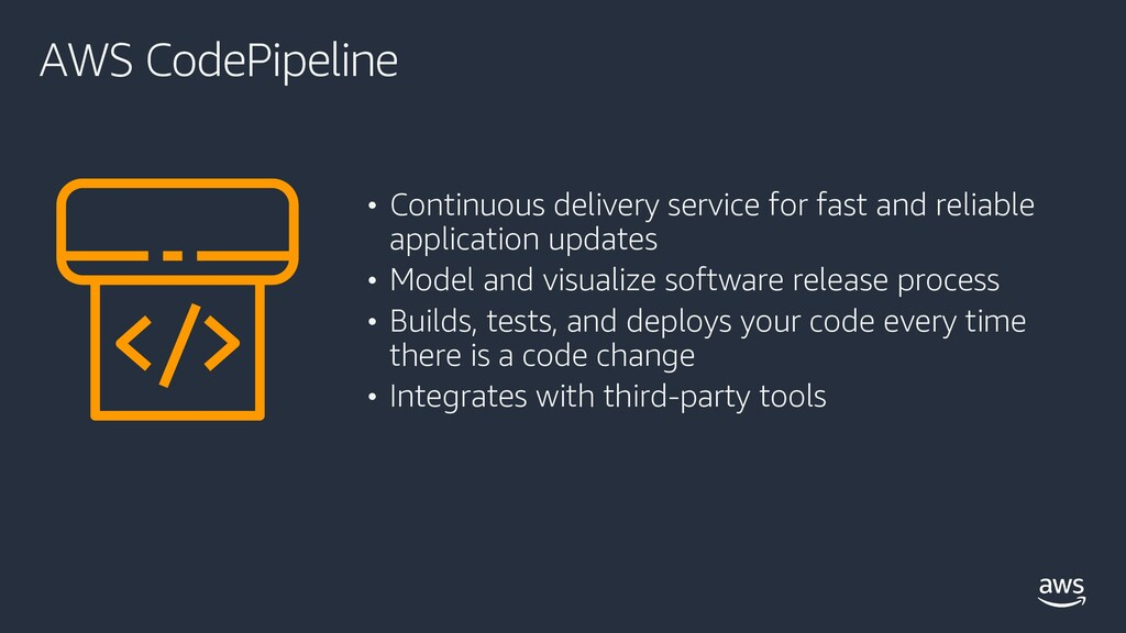 AWS CodePipeline • Continuous delivery service ...