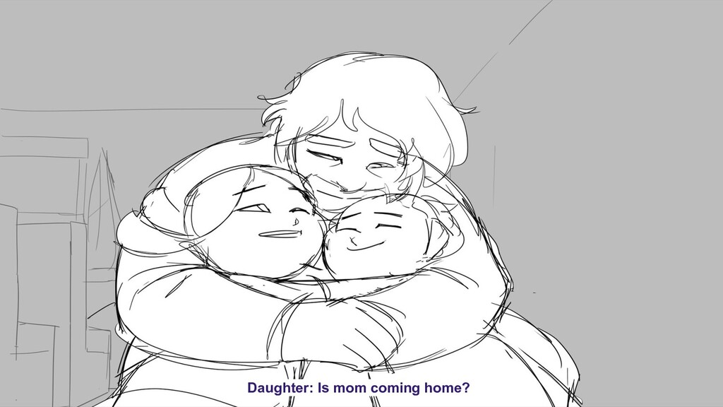 Daughter: Is mom coming home?