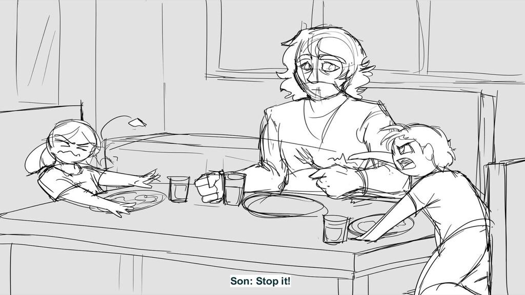 Son: Stop it!