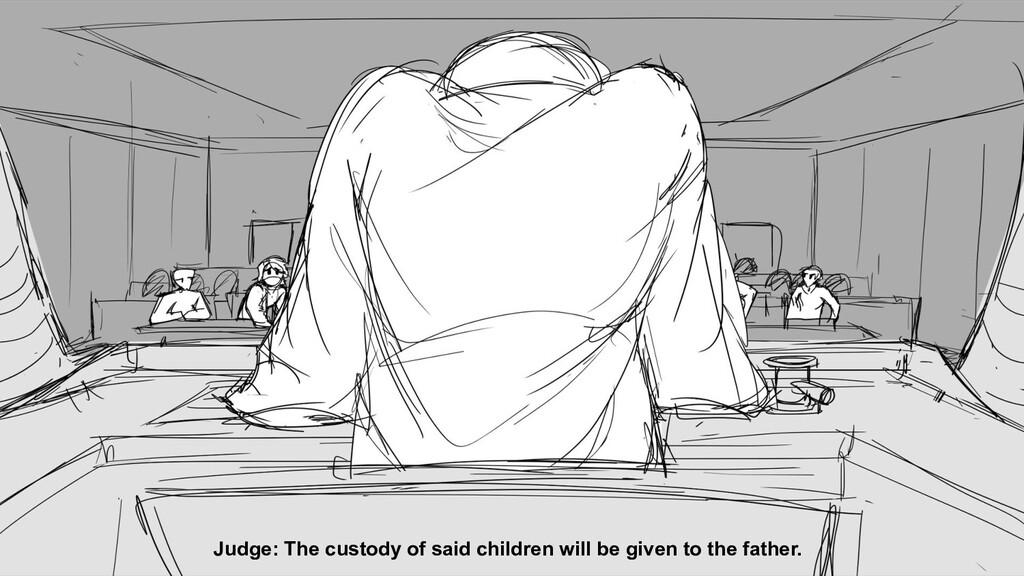Judge: The custody of said children will be giv...