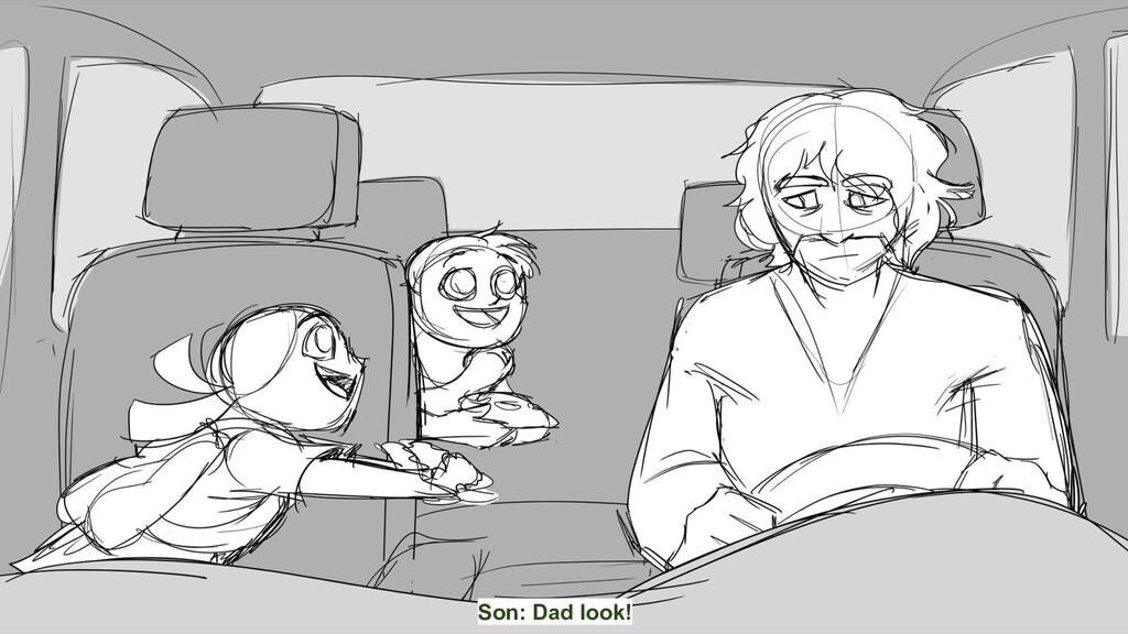 Son: Dad look!