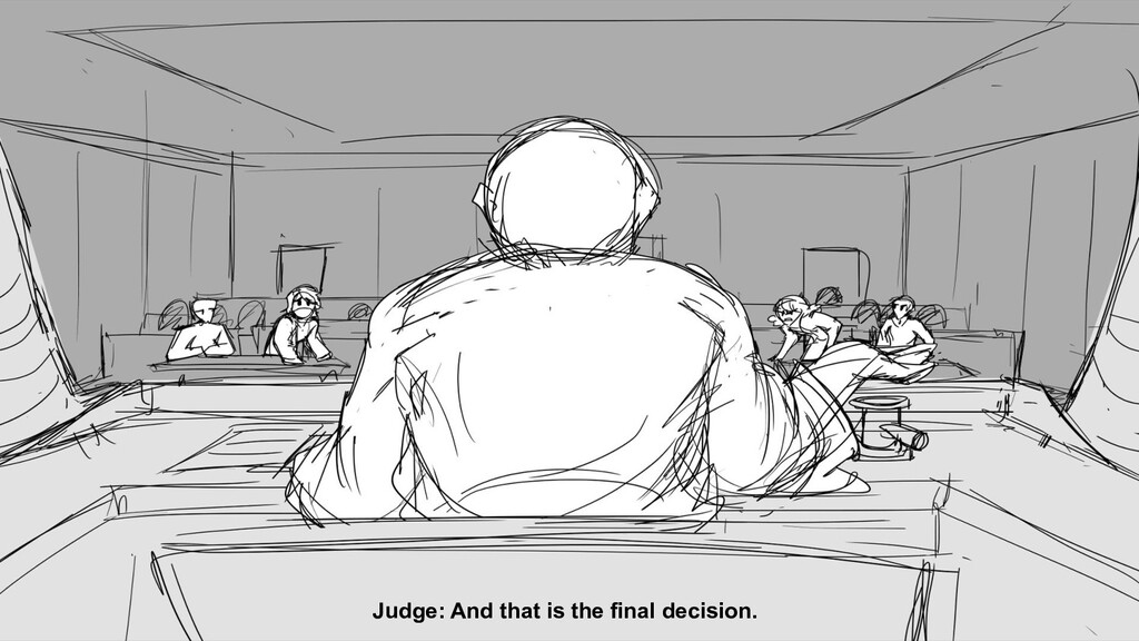 Judge: And that is the final decision.