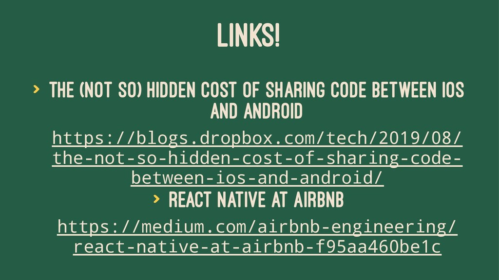 LINKS! > The (not so) hidden cost of sharing co...