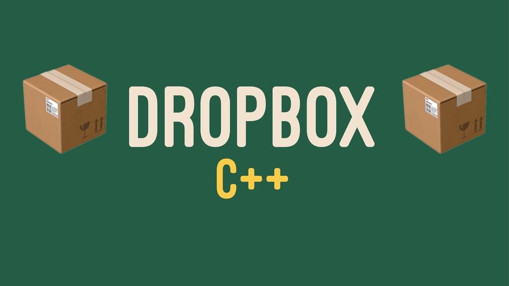 ! DROPBOX C++