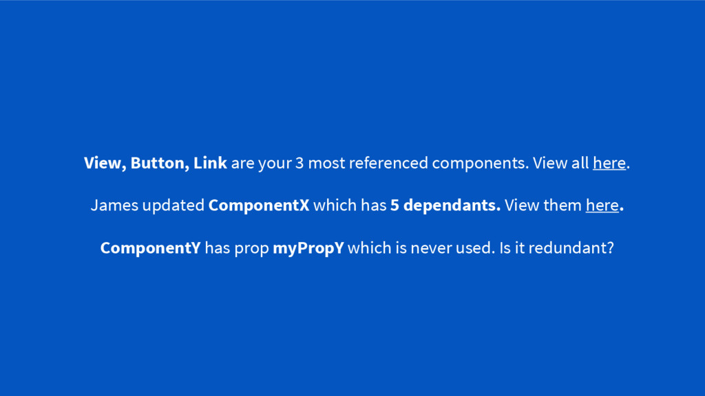View, Button, Link are your 3 most referenced c...