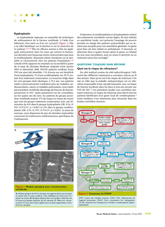 Revue Médicale Suisse – www.revmed.ch – 27 juin...