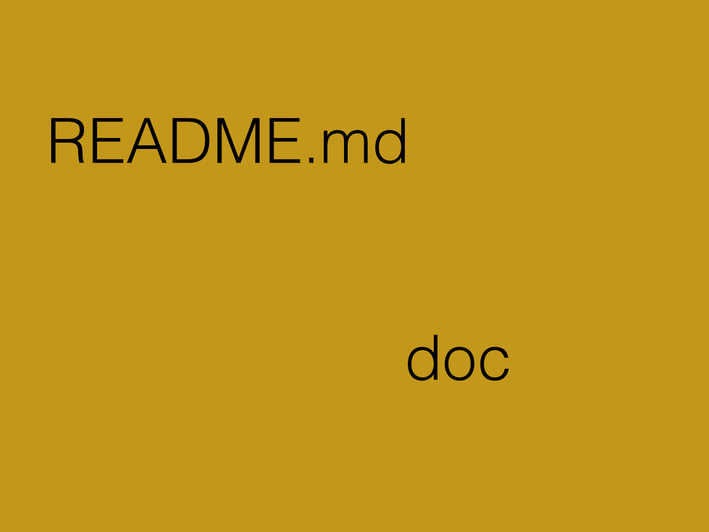 README.md doc