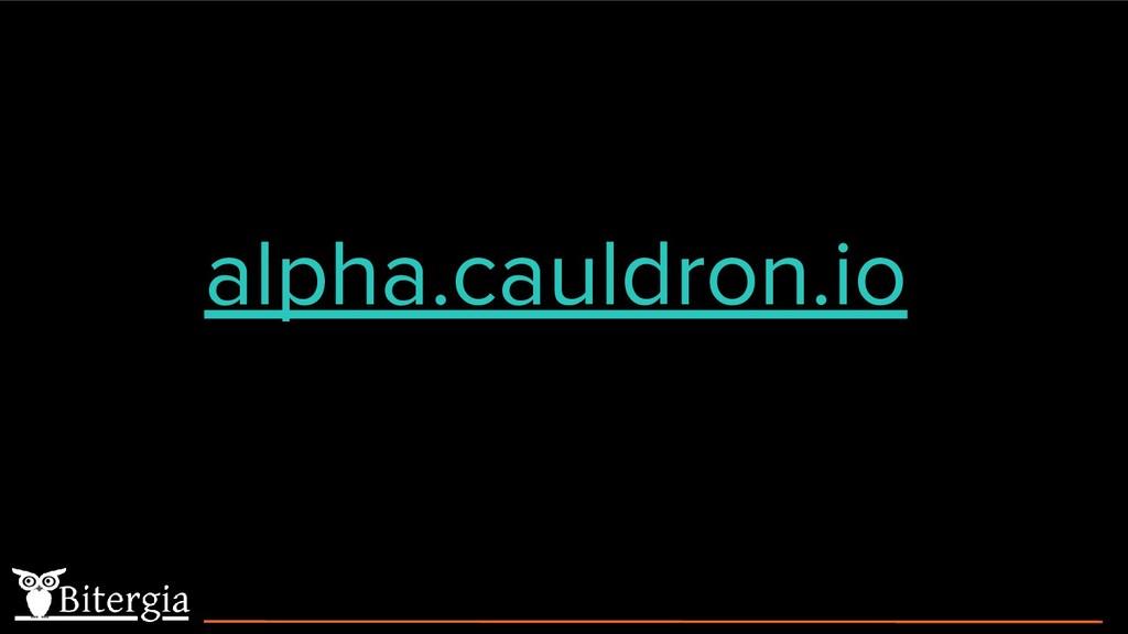 alpha.cauldron.io