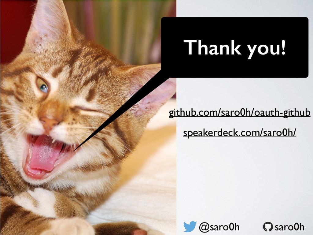 Thank you! @saro0h speakerdeck.com/saro0h/ saro...