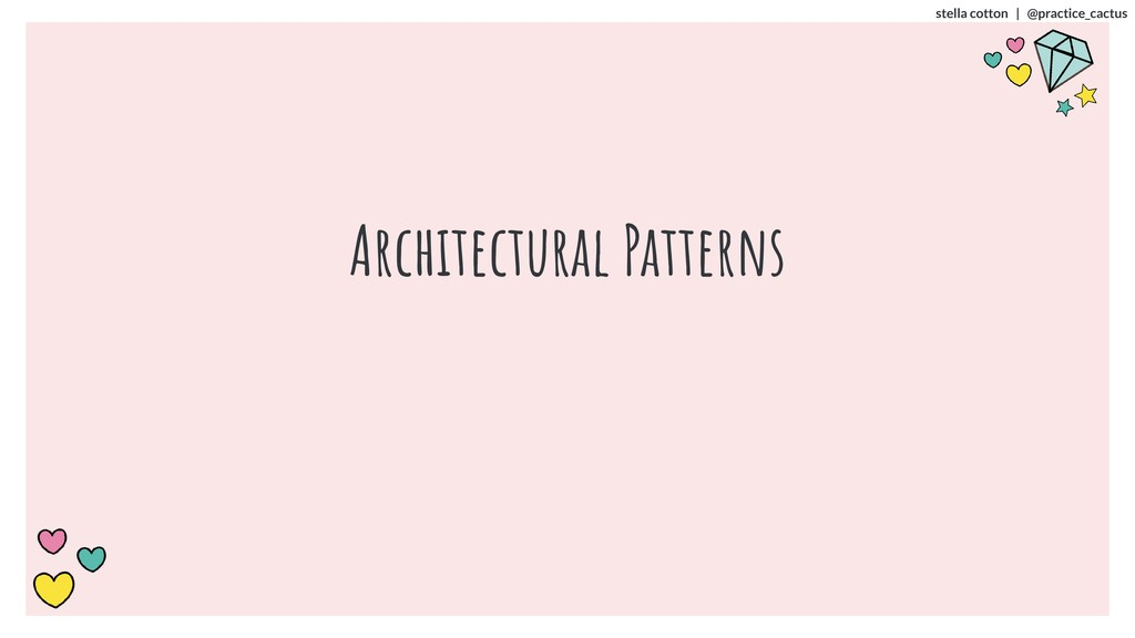 stella cotton | @practice_cactus Architectural ...