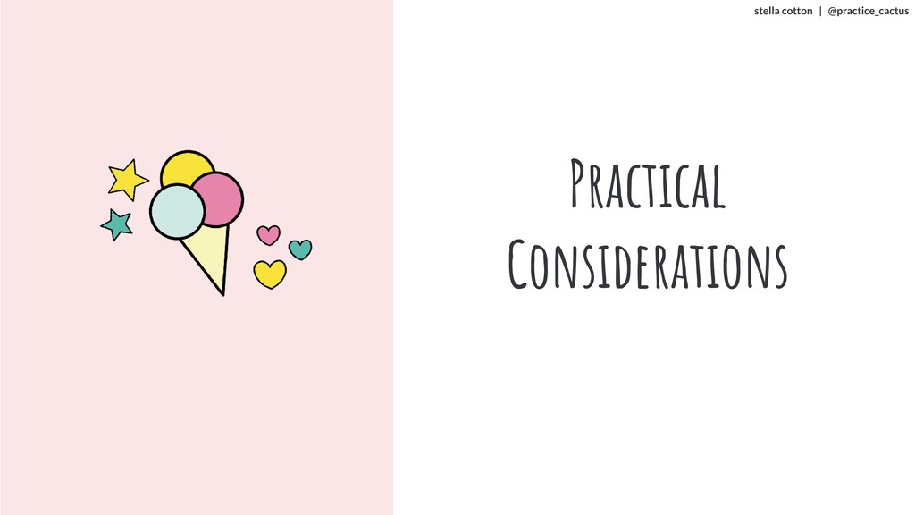 stella cotton | @practice_cactus Practical Cons...