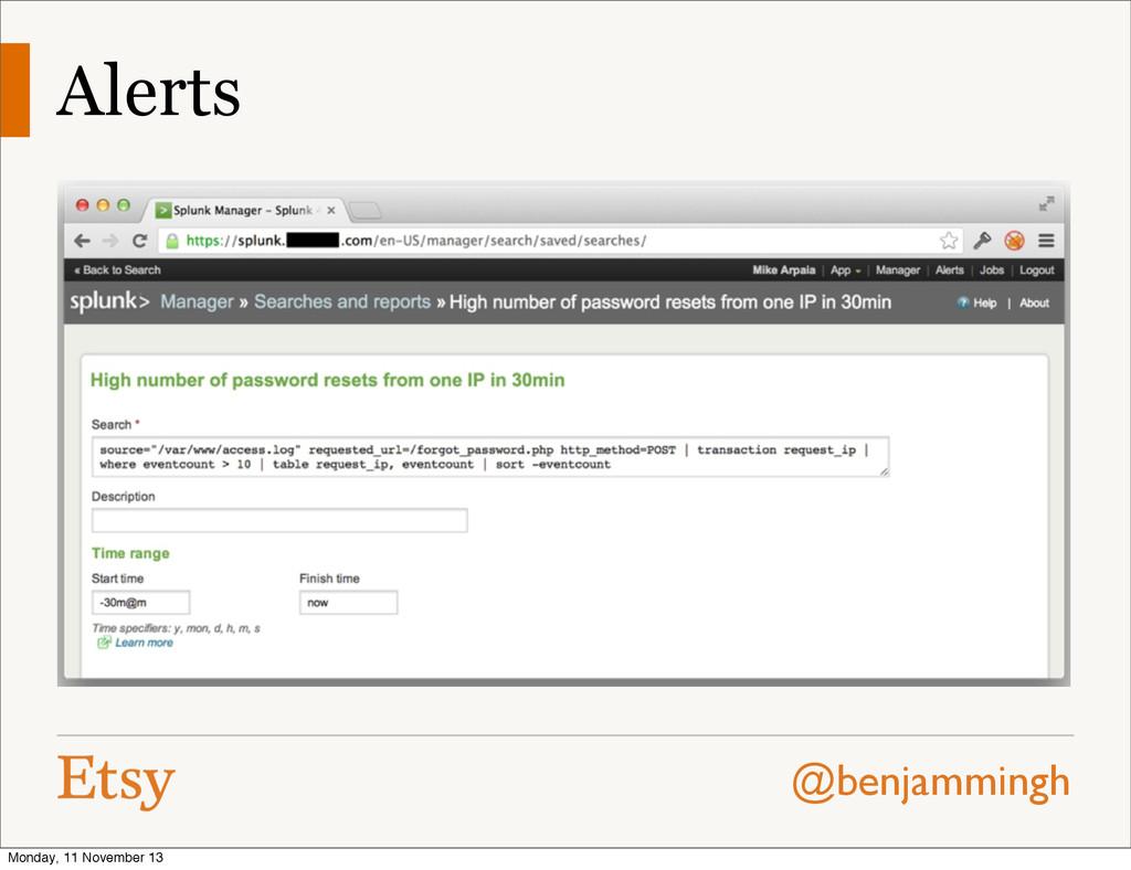@benjammingh Alerts Monday, 11 November 13