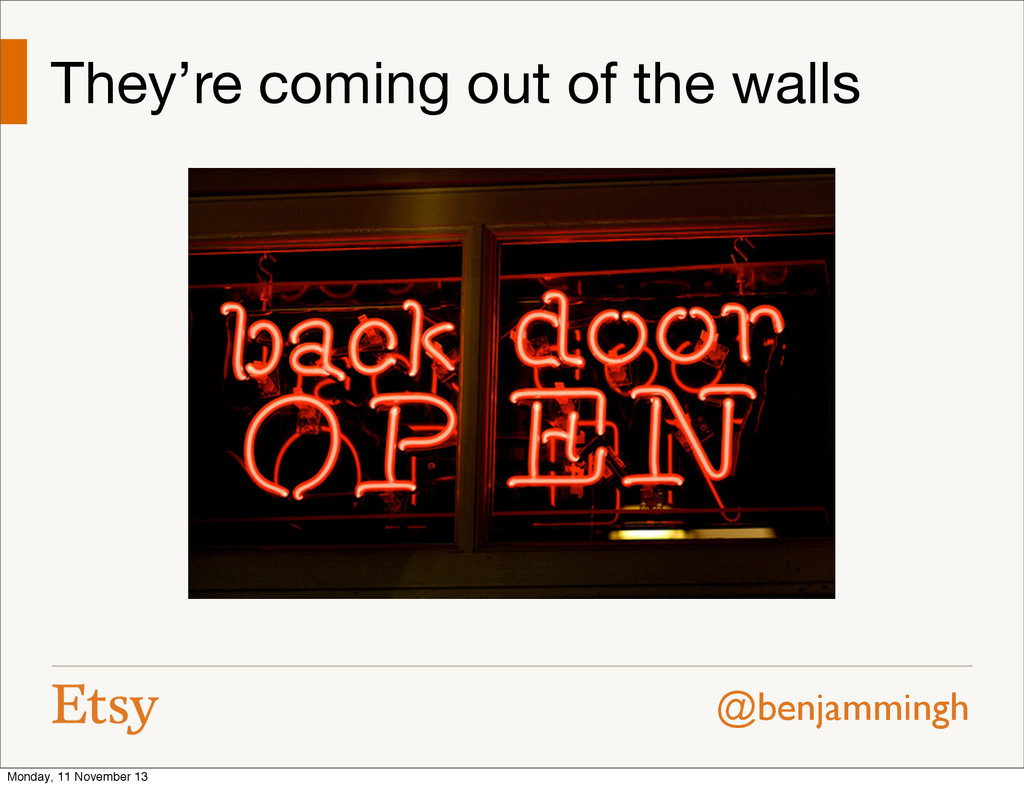 @benjammingh They're coming out of the walls Mo...