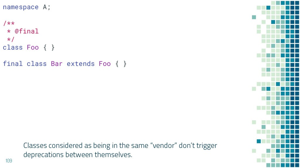 """Classes considered as being in the same """"vendor..."""