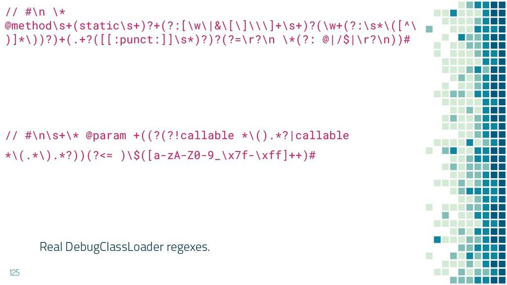 125 // #\n \* @method\s+(static\s+)?+(?:[\w\|&\...