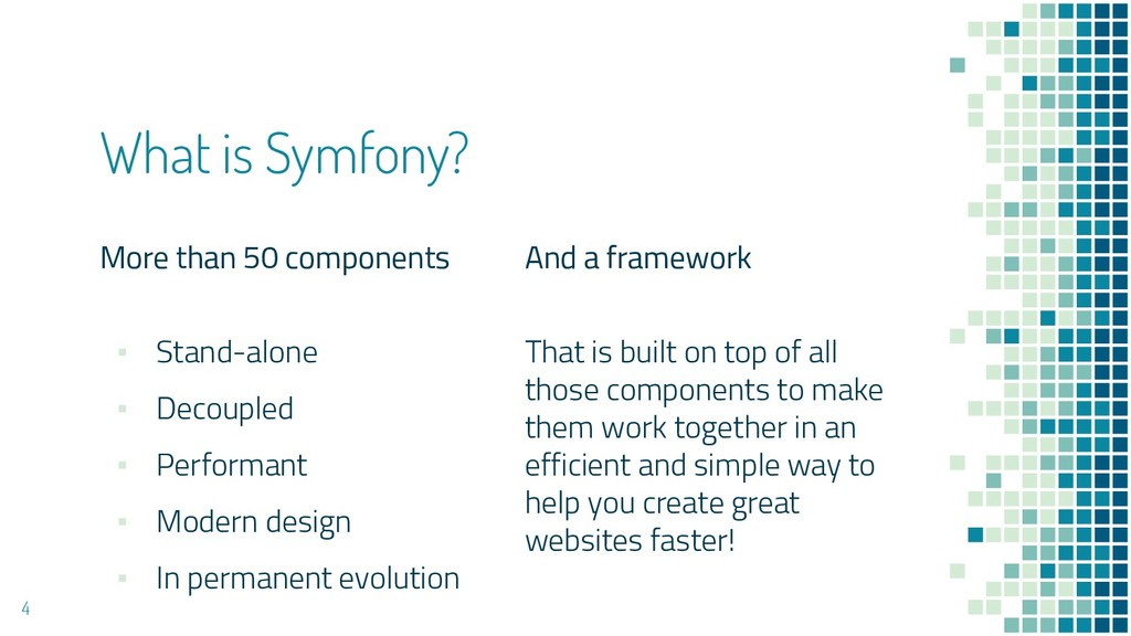 More than 50 components ▪ Stand-alone ▪ Decoupl...
