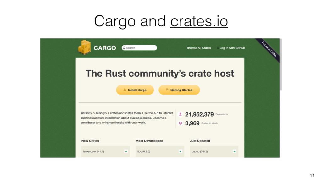 Cargo and crates.io 11