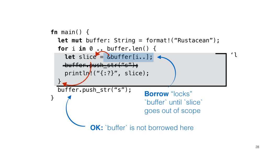 'l fn main() { let mut buffer: String = format!...