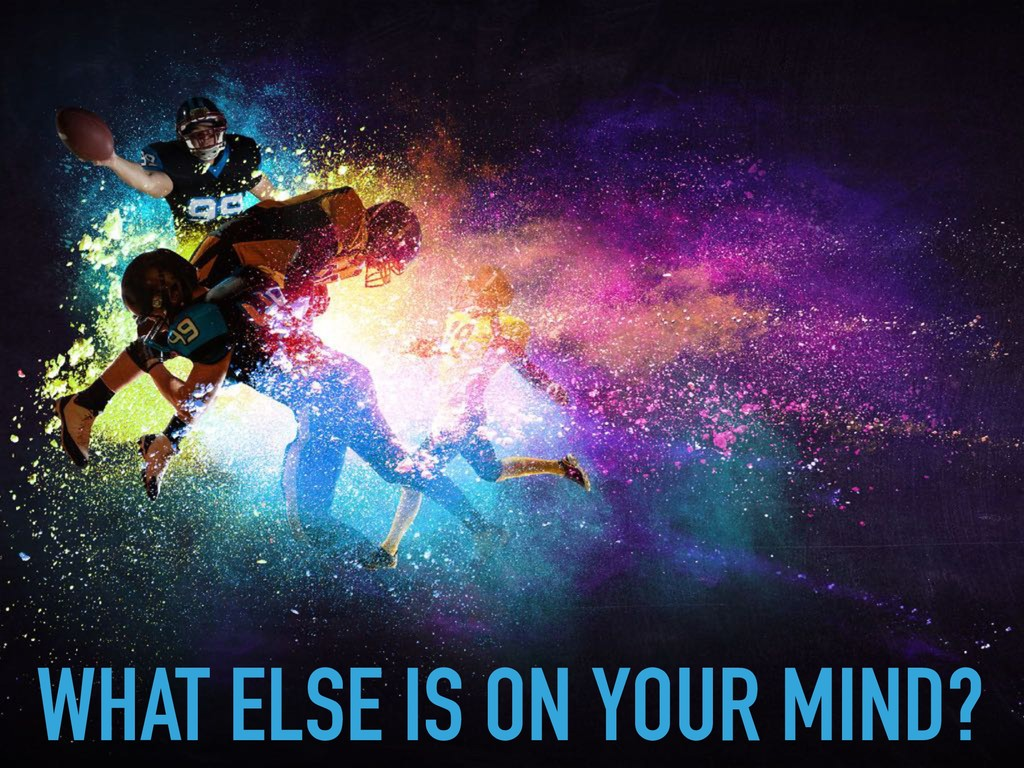 WHAT ELSE IS ON YOUR MIND?