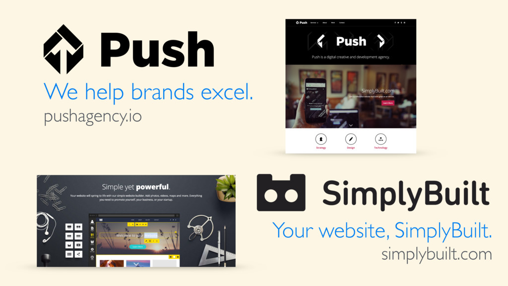 We help brands excel. pushagency.io Your websit...