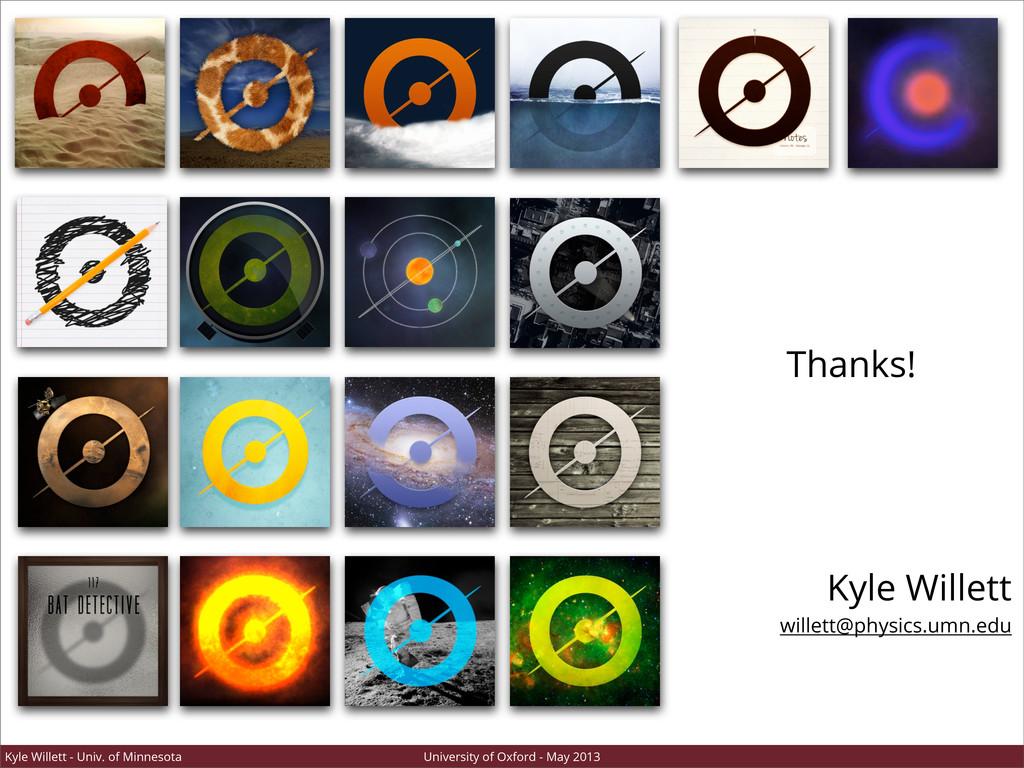 Kyle Willett - Univ. of Minnesota University of...