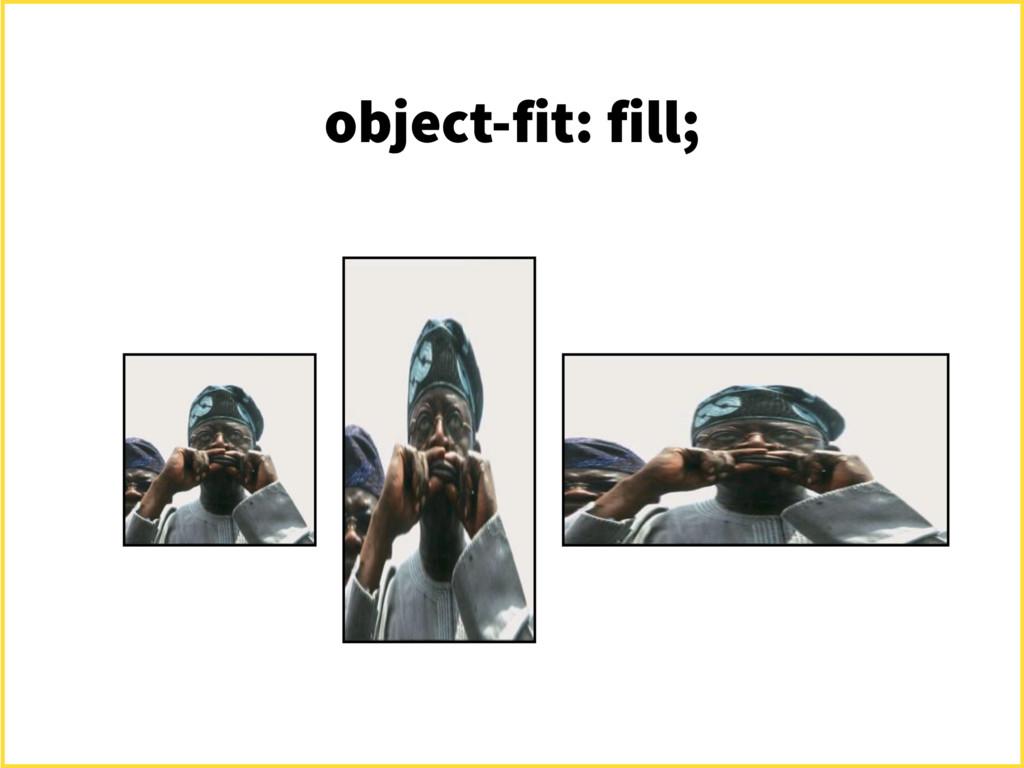 object-fit: fill;