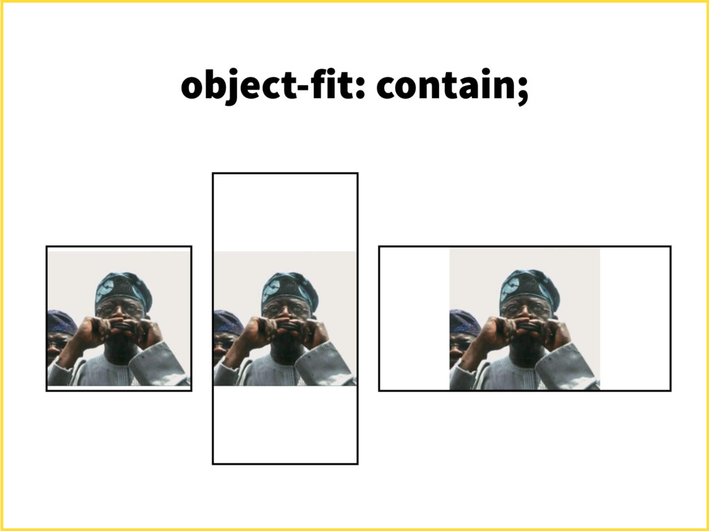 object-fit: contain;