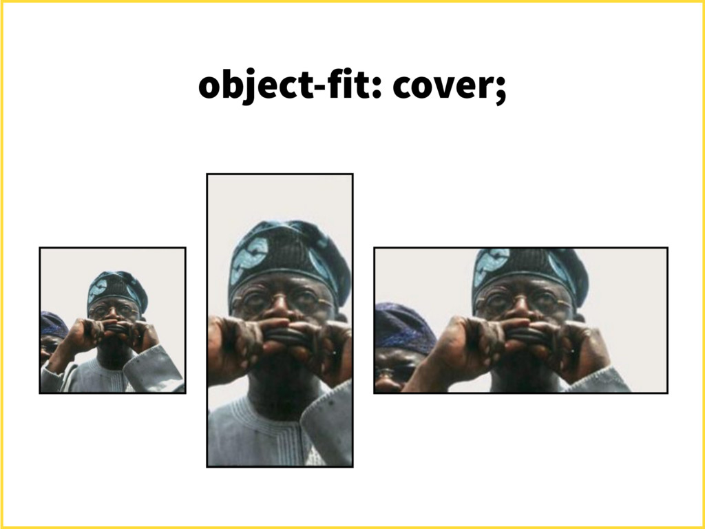 object-fit: cover;