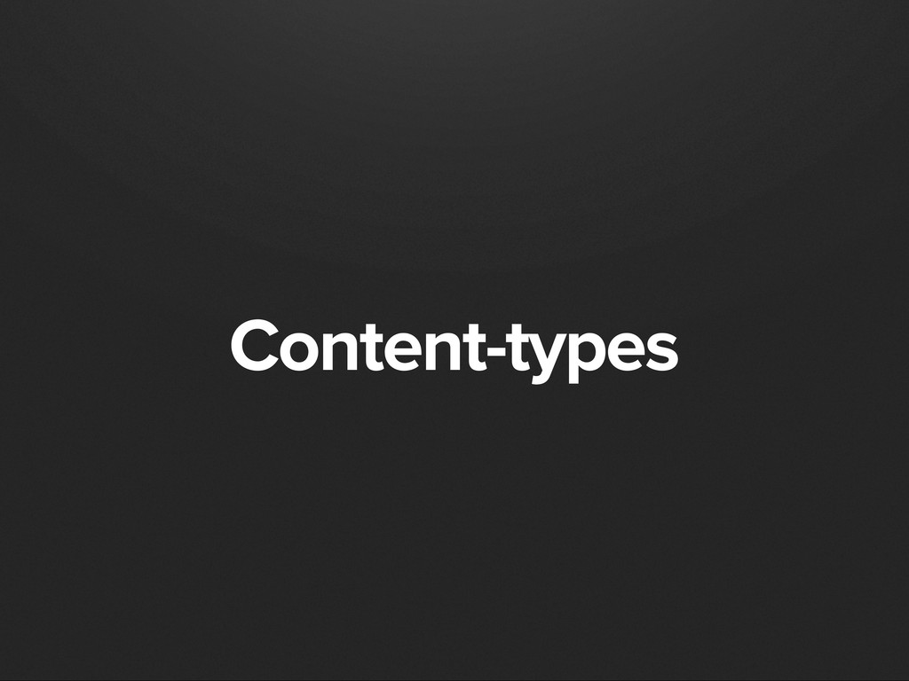 Content-types