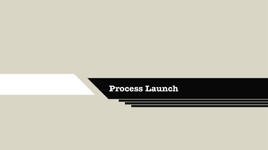 Process Launch