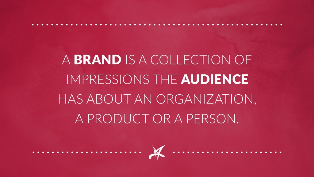 A BRAND IS A COLLECTION OF IMPRESSIONS THE AUDI...