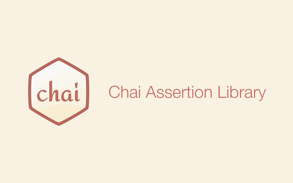 Chai Assertion Library