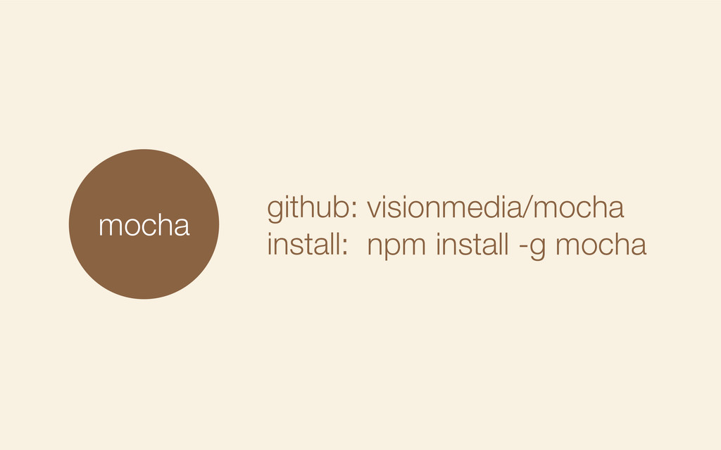 mocha github: install: visionmedia/mocha npm in...