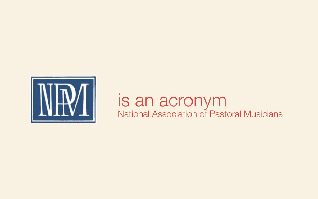 is an acronym National Association of Pastoral ...