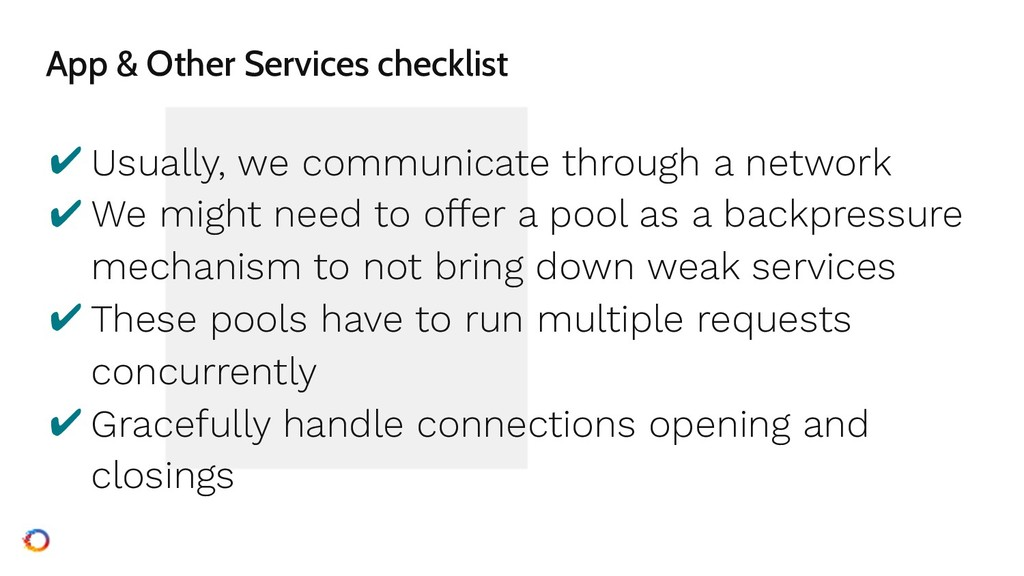 App & Other Services checklist ✔ Usually, we co...
