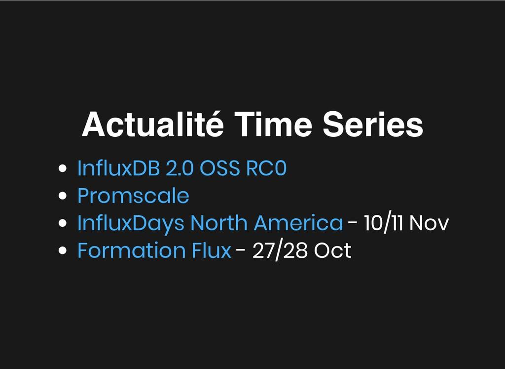 Actualité Time Series Actualité Time Series - 1...
