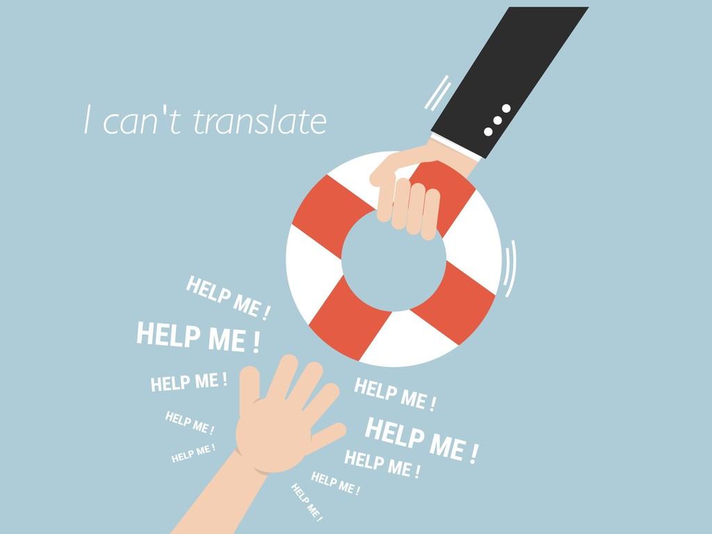 I can't translate