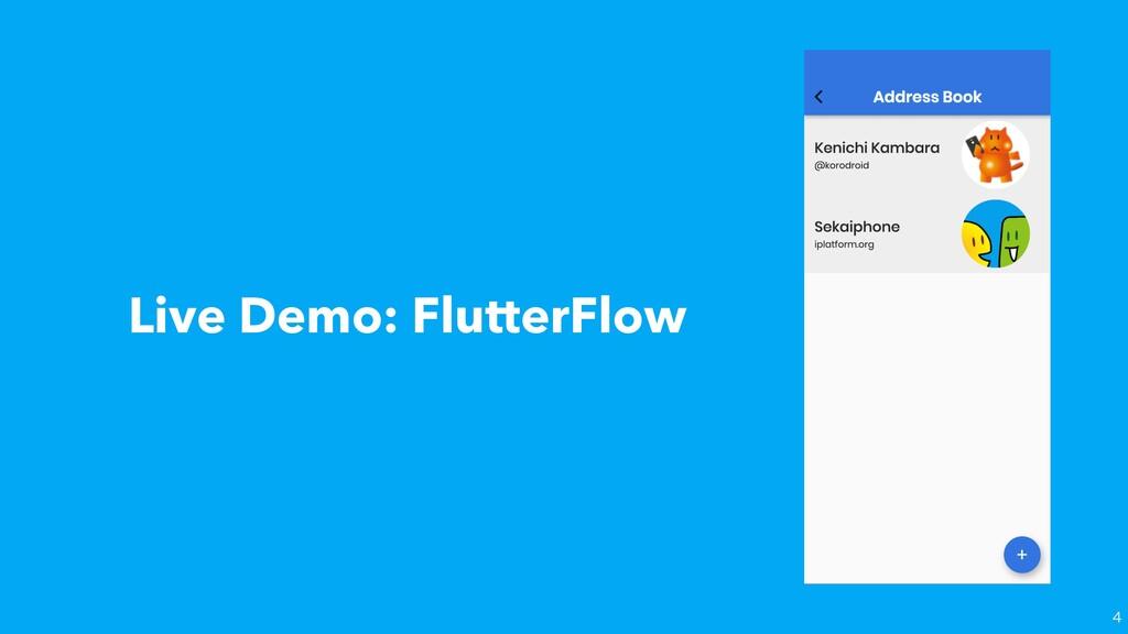 Live Demo: FlutterFlow