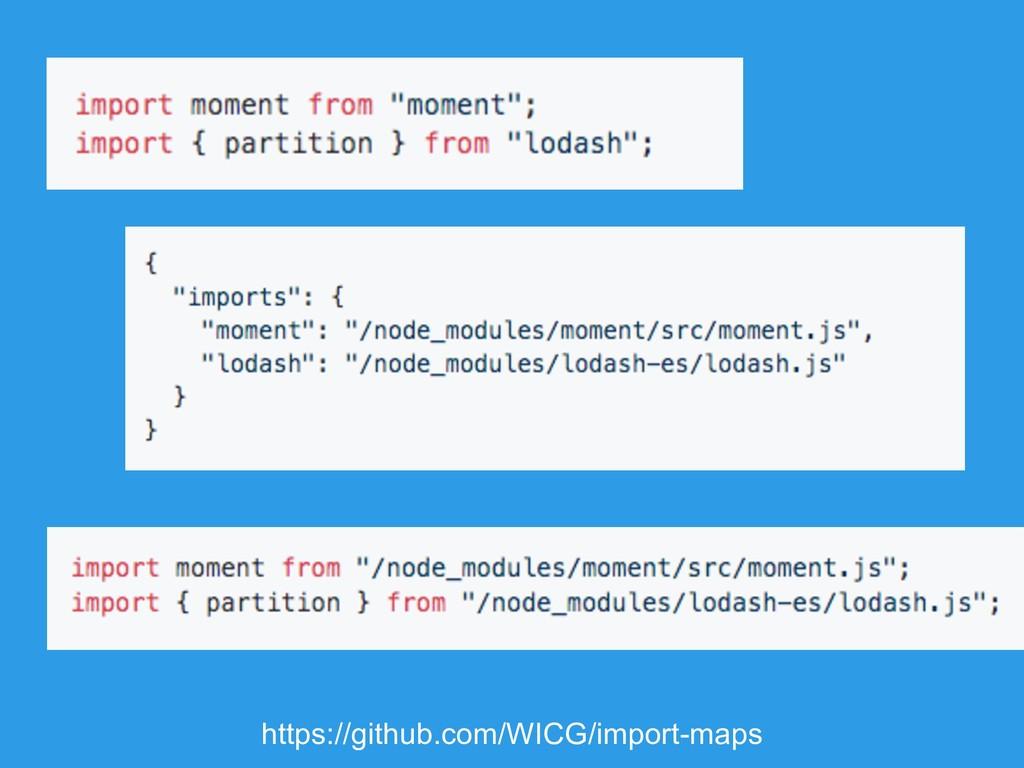 https://github.com/WICG/import-maps