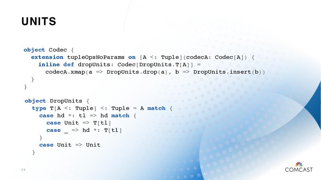 UNITS 2 2 object Codec { extension tupleOpsNoPa...