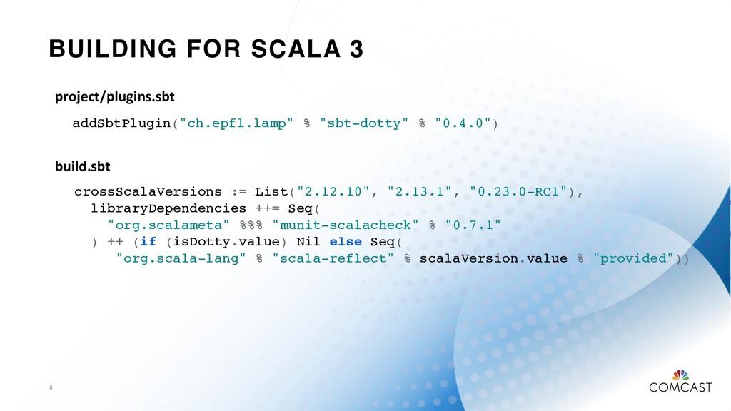 "BUILDING FOR SCALA 3 4 addSbtPlugin(""ch.epfl.la..."