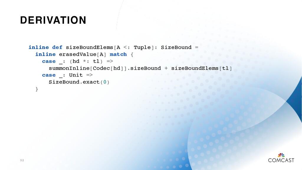 DERIVATION 3 2 inline def sizeBoundElems[A <: T...