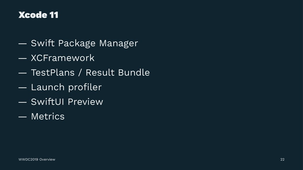 Xcode 11 — Swift Package Manager — XCFramework ...
