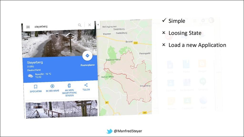 @ManfredSteyer ✓ Simple  Loosing State  Load ...