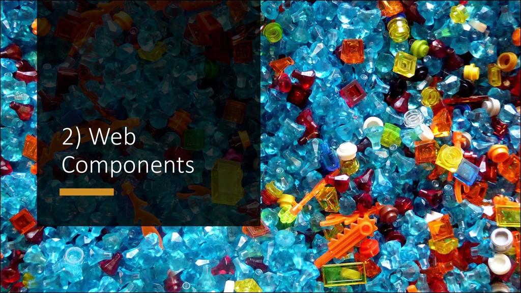 @ManfredSteyer 2) Web Components