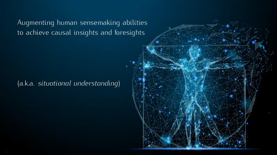 Augmenting human sensemaking abilities to achie...