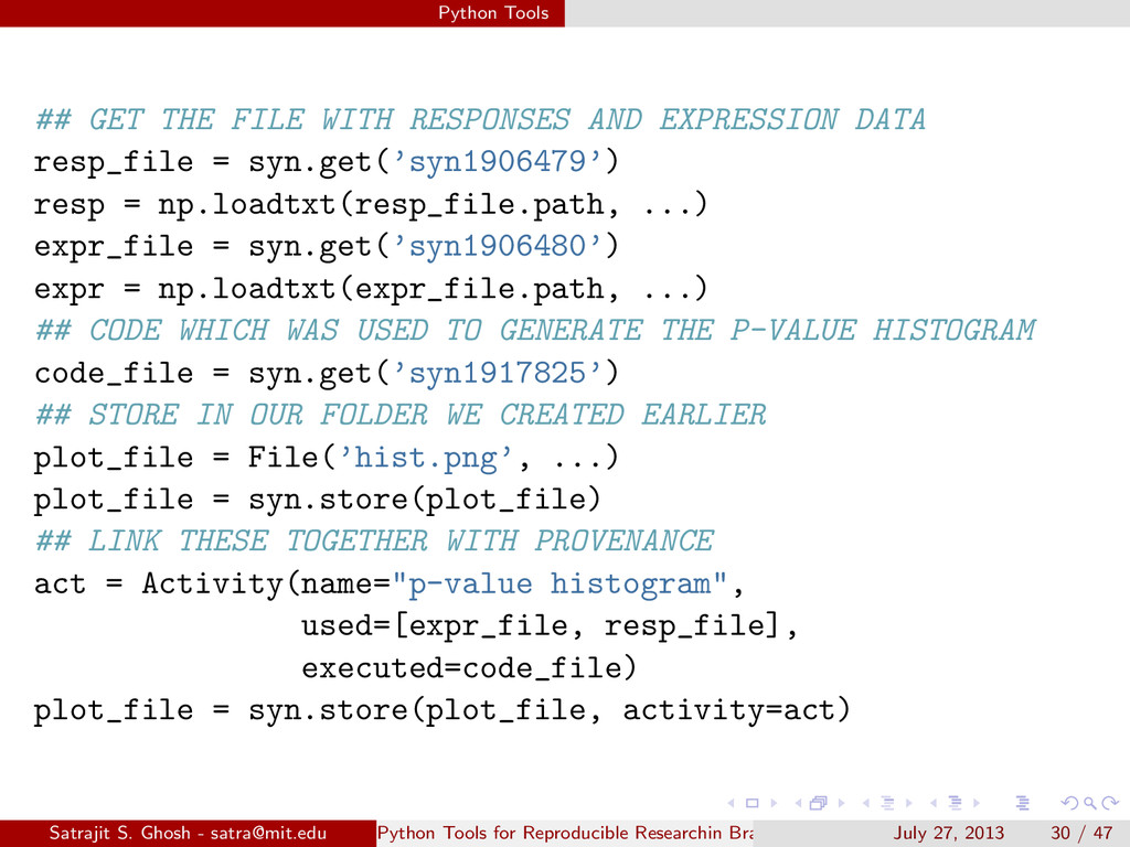 Python Tools ## GET THE FILE WITH RESPONSES AND...